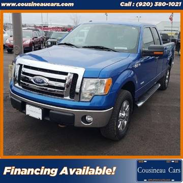 2011 Ford F-150 for sale at CousineauCars.com in Appleton WI