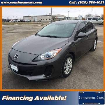 2013 Mazda MAZDA3 for sale at CousineauCars.com in Appleton WI