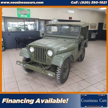 1954 Willys Jeep for sale at CousineauCars.com in Appleton WI