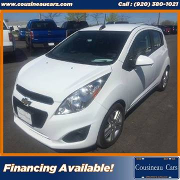 2015 Chevrolet Spark for sale at CousineauCars.com in Appleton WI