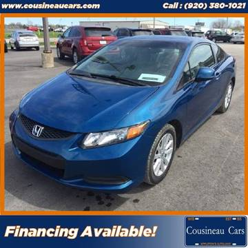 2012 Honda Civic for sale at CousineauCars.com in Appleton WI