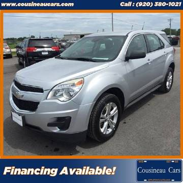 2012 Chevrolet Equinox for sale at CousineauCars.com in Appleton WI