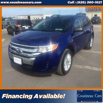2013 Ford Edge for sale at CousineauCars.com in Appleton WI
