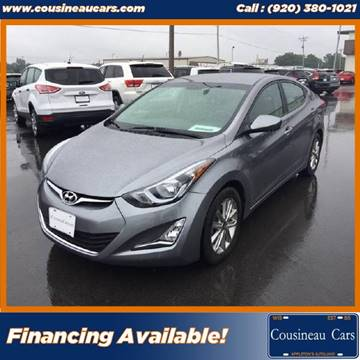 2016 Hyundai Elantra for sale at CousineauCars.com in Appleton WI