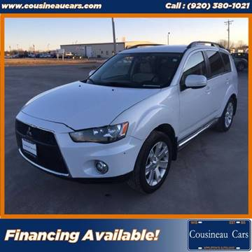 2012 Mitsubishi Outlander for sale at CousineauCars.com in Appleton WI