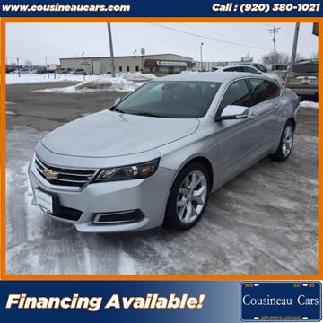 2014 Chevrolet Impala for sale at CousineauCars.com in Appleton WI