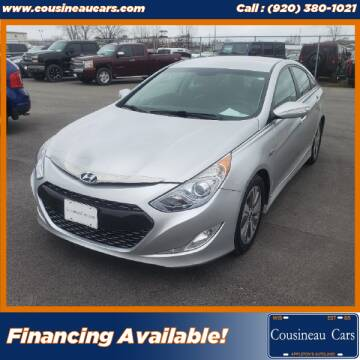2013 Hyundai Sonata Hybrid for sale at CousineauCars.com in Appleton WI