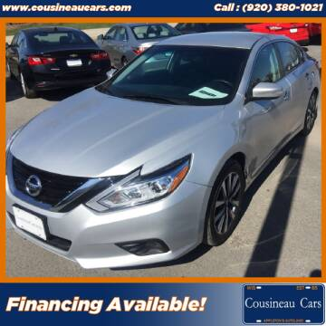 2017 Nissan Altima for sale at CousineauCars.com in Appleton WI