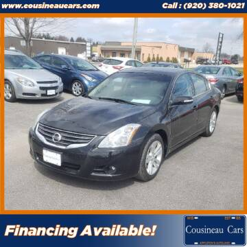 2012 Nissan Altima for sale at CousineauCars.com in Appleton WI