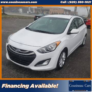 2013 Hyundai Elantra GT for sale at CousineauCars.com in Appleton WI