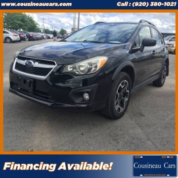 2015 Subaru XV Crosstrek for sale at CousineauCars.com in Appleton WI