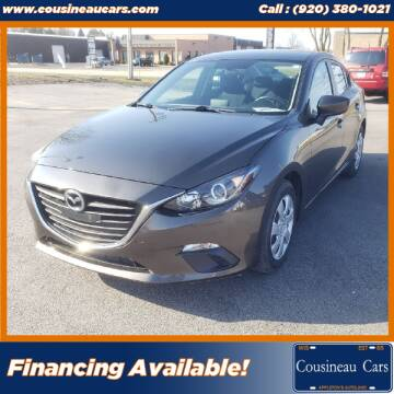 2015 Mazda MAZDA3 for sale at CousineauCars.com in Appleton WI
