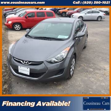 2012 Hyundai Elantra for sale at CousineauCars.com in Appleton WI