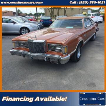 1977 Mercury Cougar for sale at CousineauCars.com in Appleton WI