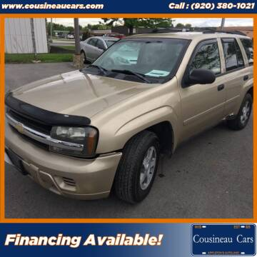2006 Chevrolet TrailBlazer for sale at CousineauCars.com in Appleton WI