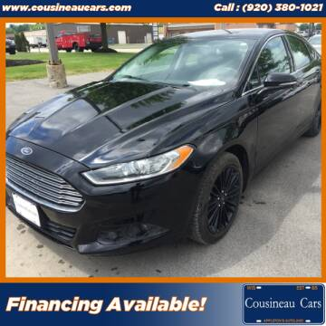 2016 Ford Fusion for sale at CousineauCars.com in Appleton WI