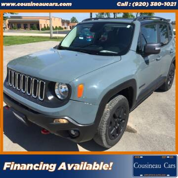 2017 Jeep Renegade for sale at CousineauCars.com in Appleton WI