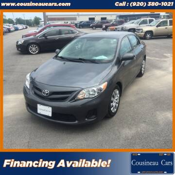 2012 Toyota Corolla for sale at CousineauCars.com in Appleton WI