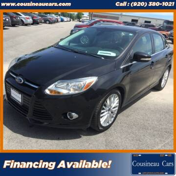 2012 Ford Focus for sale at CousineauCars.com in Appleton WI