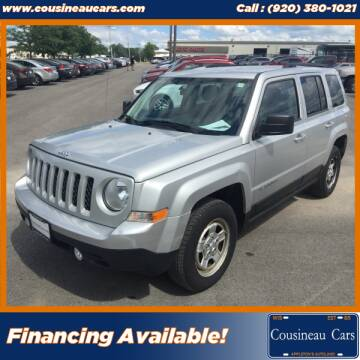 2011 Jeep Patriot for sale at CousineauCars.com in Appleton WI