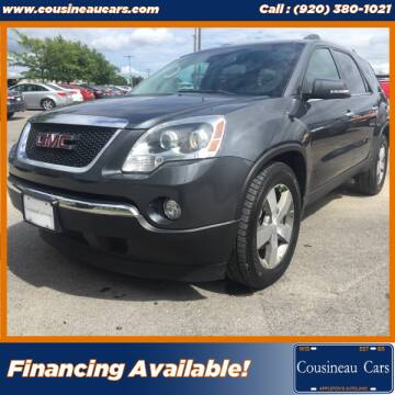 2011 GMC Acadia for sale at CousineauCars.com in Appleton WI