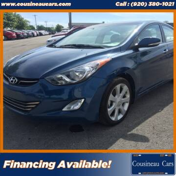 2013 Hyundai Elantra for sale at CousineauCars.com in Appleton WI