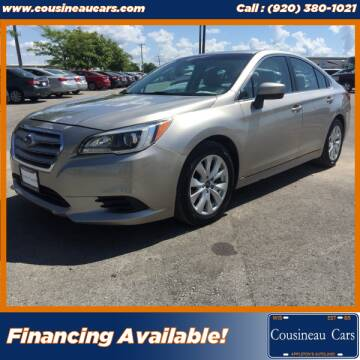 2017 Subaru Legacy for sale at CousineauCars.com in Appleton WI
