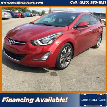 2014 Hyundai Elantra for sale at CousineauCars.com in Appleton WI