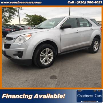 2015 Chevrolet Equinox for sale at CousineauCars.com in Appleton WI