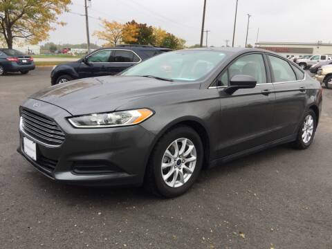2015 Ford Fusion for sale at CousineauCars.com in Appleton WI