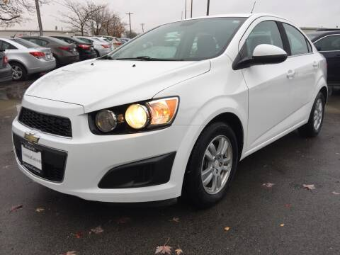 2012 Chevrolet Sonic for sale at CousineauCars.com in Appleton WI