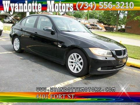 2007 BMW 3 Series for sale at Wyandotte Motors in Wyandotte MI