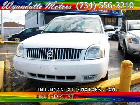 2005 Mercury Montego for sale at Wyandotte Motors in Wyandotte MI