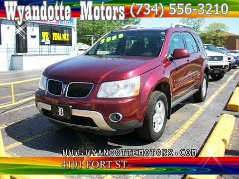 2007 Pontiac Torrent for sale at Wyandotte Motors in Wyandotte MI