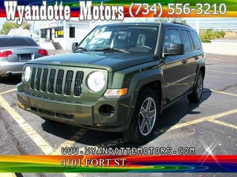 2009 Jeep Patriot for sale at Wyandotte Motors in Wyandotte MI