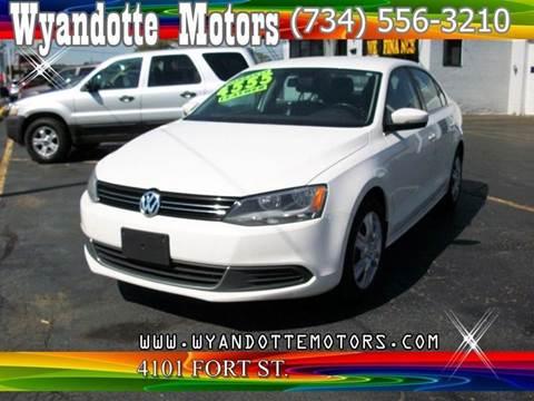 2013 Volkswagen Jetta for sale at Wyandotte Motors in Wyandotte MI