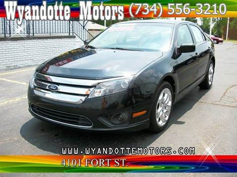 2010 Ford Fusion for sale at Wyandotte Motors in Wyandotte MI