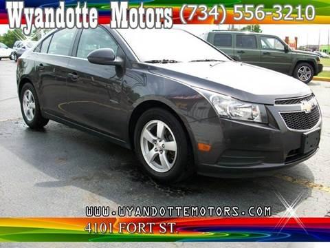 2014 Chevrolet Cruze for sale at Wyandotte Motors in Wyandotte MI