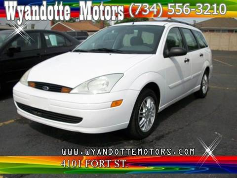 2002 Ford Focus for sale at Wyandotte Motors in Wyandotte MI