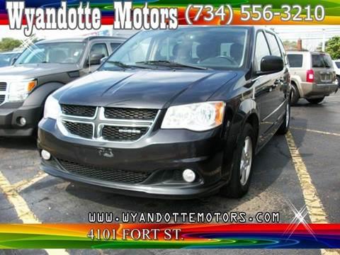 2011 Dodge Grand Caravan for sale at Wyandotte Motors in Wyandotte MI