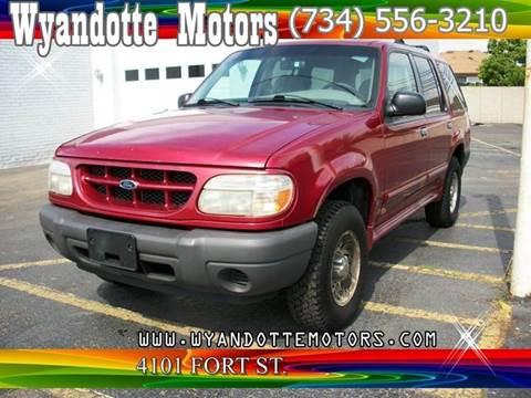 2000 Ford Explorer for sale at Wyandotte Motors in Wyandotte MI