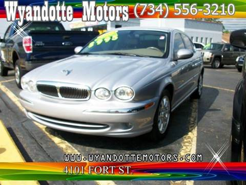 2003 Jaguar X-Type for sale at Wyandotte Motors in Wyandotte MI
