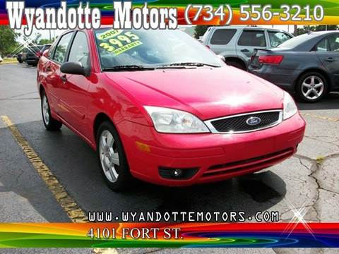 2007 Ford Focus for sale at Wyandotte Motors in Wyandotte MI