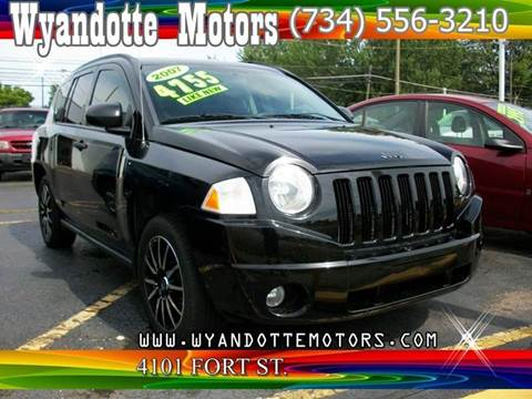 2007 Jeep Compass for sale at Wyandotte Motors in Wyandotte MI