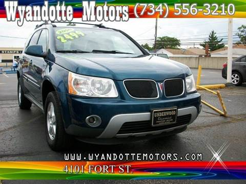 2006 Pontiac Torrent for sale at Wyandotte Motors in Wyandotte MI