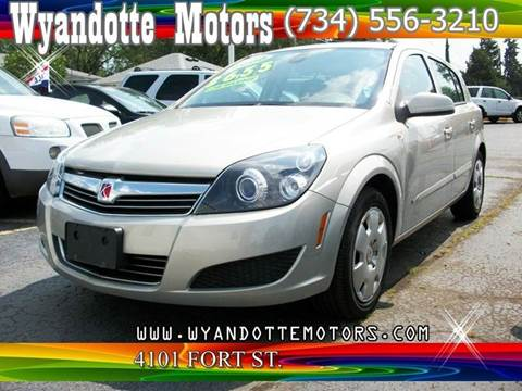 2008 Saturn Astra for sale at Wyandotte Motors in Wyandotte MI