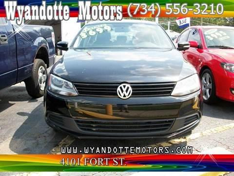 2011 Volkswagen Jetta for sale at Wyandotte Motors in Wyandotte MI