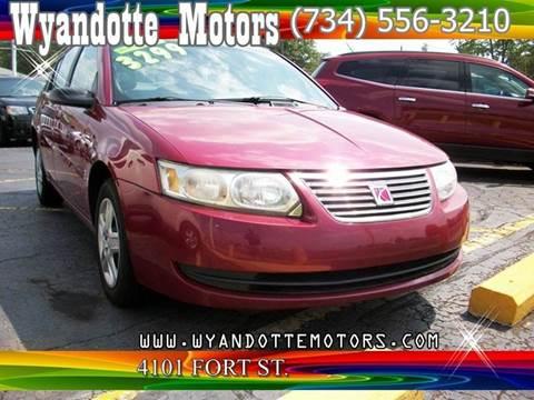 2007 Saturn Ion for sale at Wyandotte Motors in Wyandotte MI
