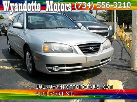 2005 Hyundai Elantra for sale at Wyandotte Motors in Wyandotte MI