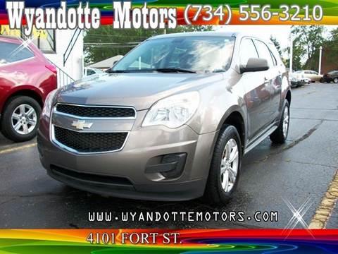 2010 Chevrolet Equinox for sale at Wyandotte Motors in Wyandotte MI